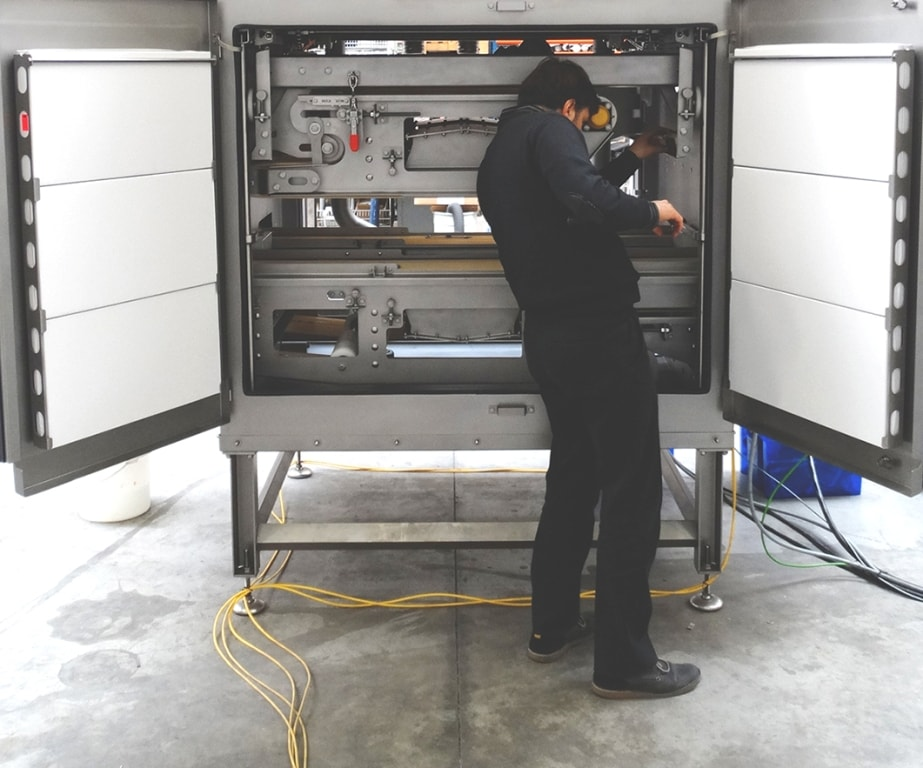 Maintenance drying system, Ronair