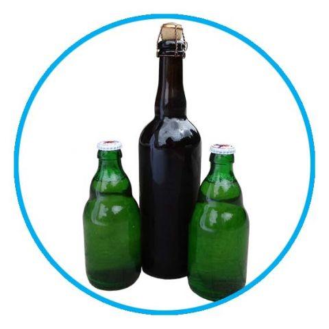 Drogen van glazen flessen, Ronair
