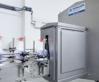Ronair drying unit for spray bottles