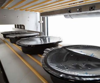 Ronair drying installation for ready meals